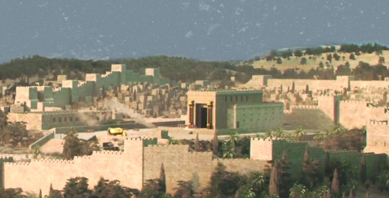 Lehi's Family Leaves Jerusalem